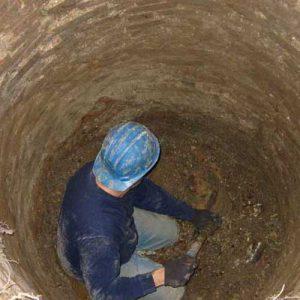 حفاری چاه فاضلاب در تهران