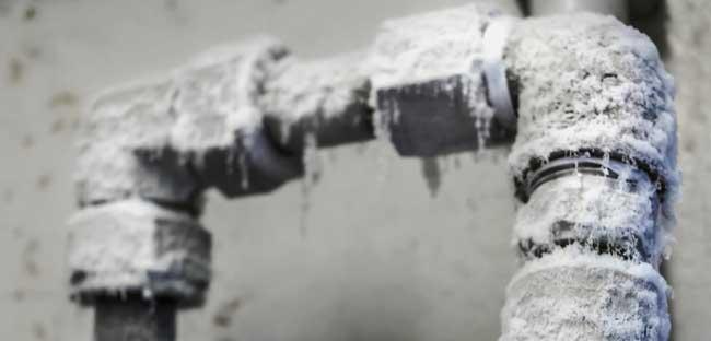 جلوگیری از یخ زدگی لوله